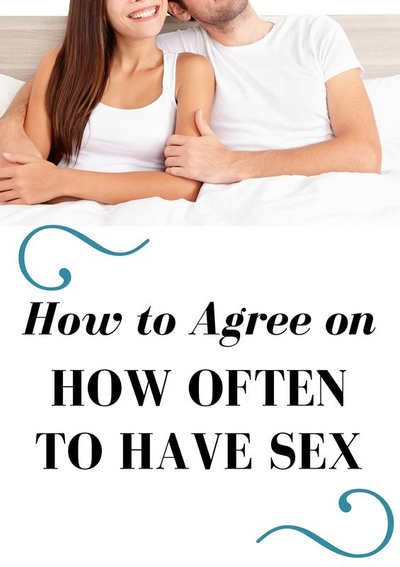 How to agree on how often to have sex