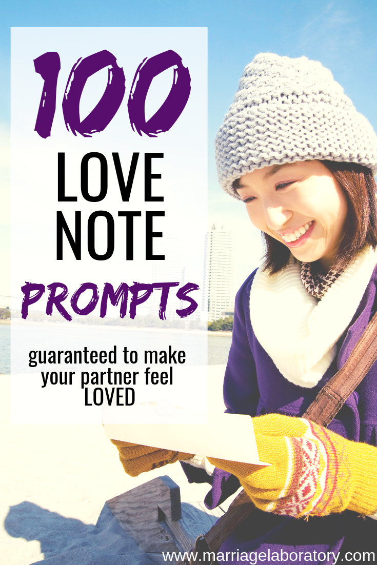 Love Note Prompts: Best list of love letter prompts on the internet! Best anniversary, birthday or Christmas gift Ever!